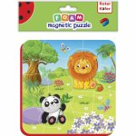 Puzzle magnetic zoo Roter Kafer