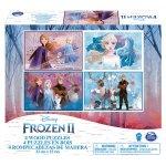 Set 4 Puzzle din lemn Frozen 2