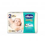 Scutece Chicco Ultra Soft Mini nr.2 3-6kg 25buc