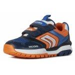 Sneakers Geox J Tuono BA Navy Orange 32 (214 mm)
