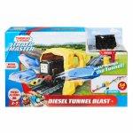 Set Fisher Price by Mattel Thomas and Friends Diesel Tunel Blast sina cu locomotiva motorizata