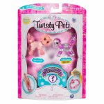 Set 3 bratari animalute Twisty Petz catel tigru si surpriza