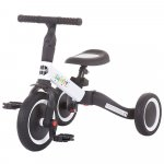 Tricicleta si bicicleta Chipolino Smarty 2 in 1 white