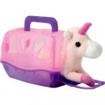Unicorn cu cusca Keycraft roz