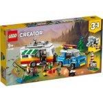 Vacanta in familie cu rulota 3 in 1 Lego Creator