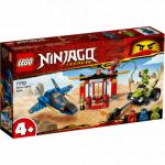 Intrecere cu avionul de lupta Lego