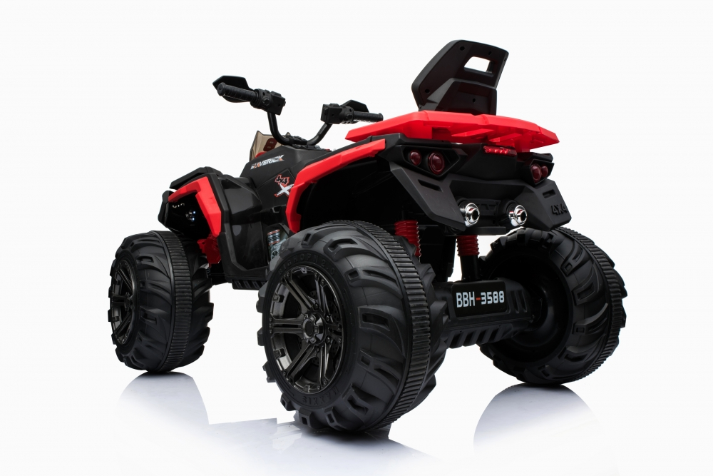 Atv electric cu doua motoare 12V Nichiduta Hunter Red