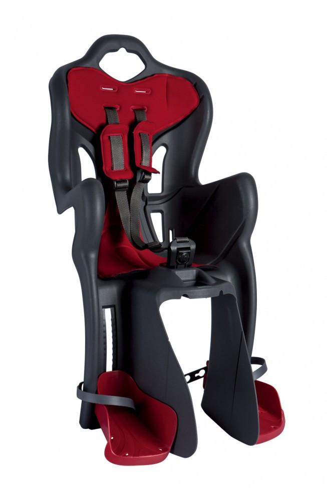 Scaun bicicleta pentru copii dark grey Bellelli B-One Clamp imagine