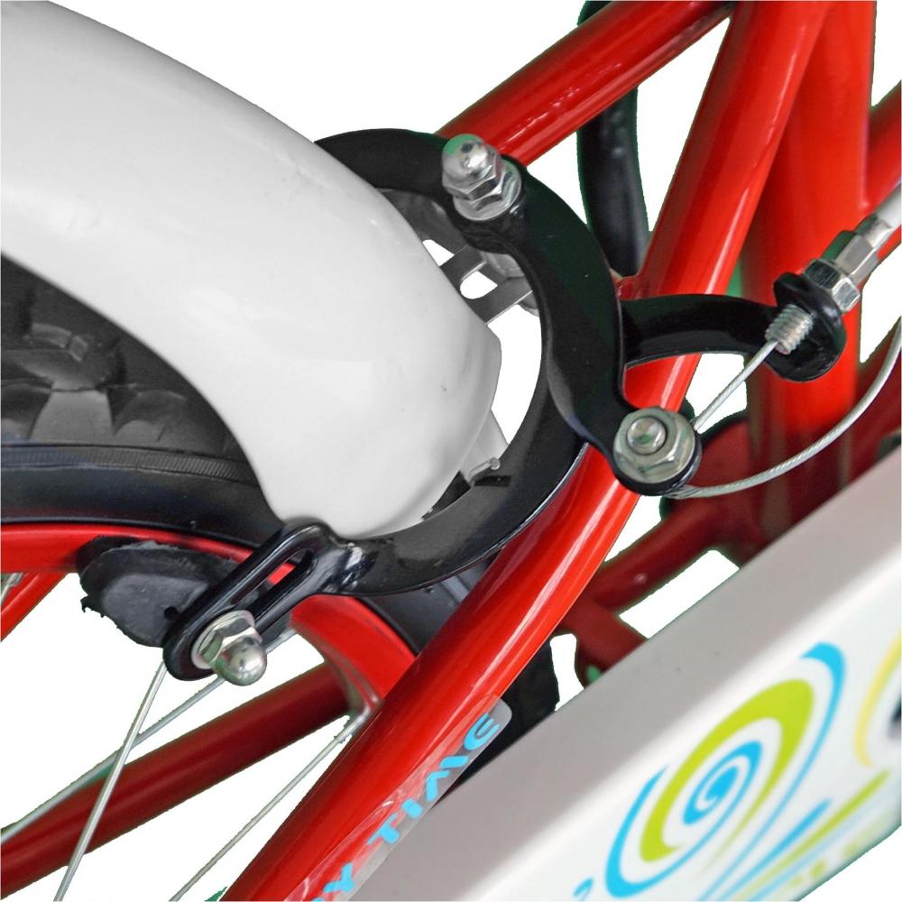 Bicicleta copii 20 Junior J2002B rosualb 7-10 ani