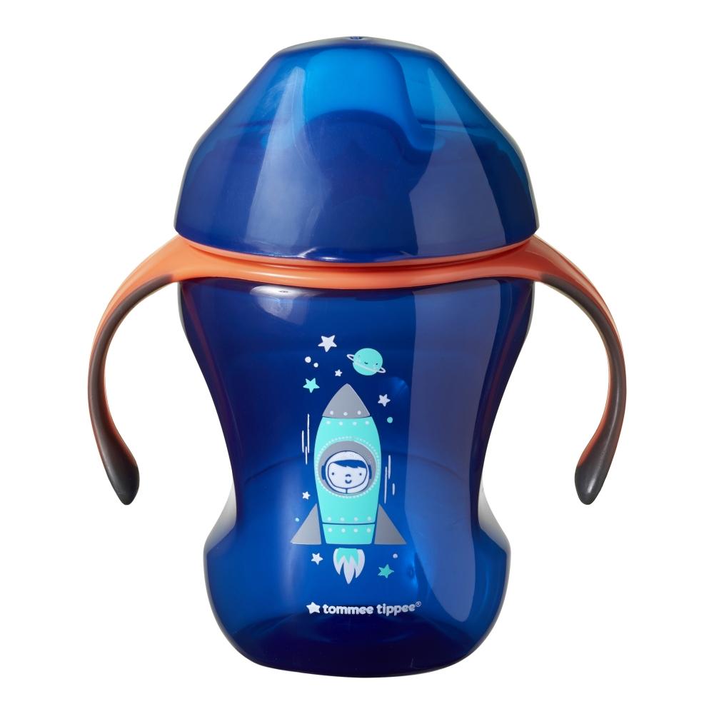 Cana Easy Drink ONL Tommee Tippee 230 ml 7 luni+ albastru imagine