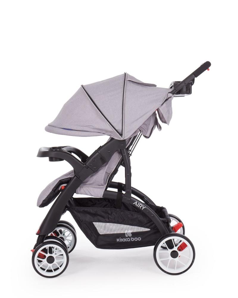 Carucior 2 in 1 cu scaun auto Airy Grey
