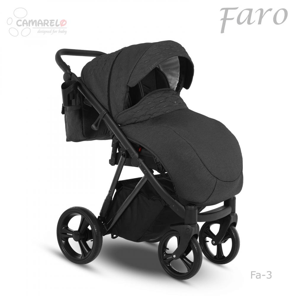 Carucior copii 3 in 1 Faro Camarelo Fa-3