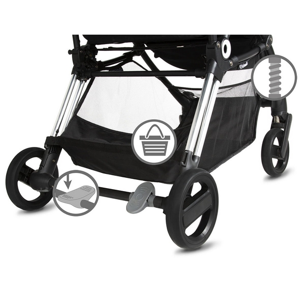 Carucior sport Kidwell Flash Gray - 3
