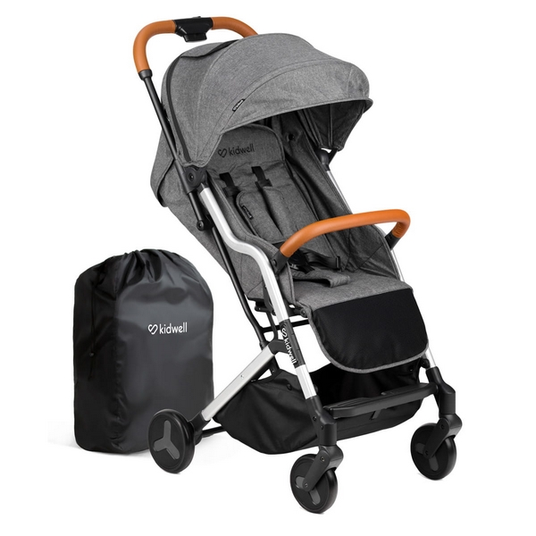 Carucior sport Kidwell Mavero Silver Brown imagine