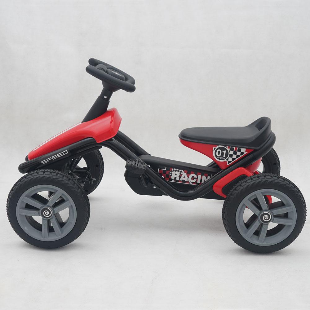 Kart cu pedale pentru copii 1388A rosu