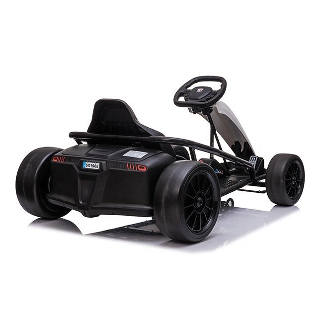 Kart electric pentru copii Go Fire Red