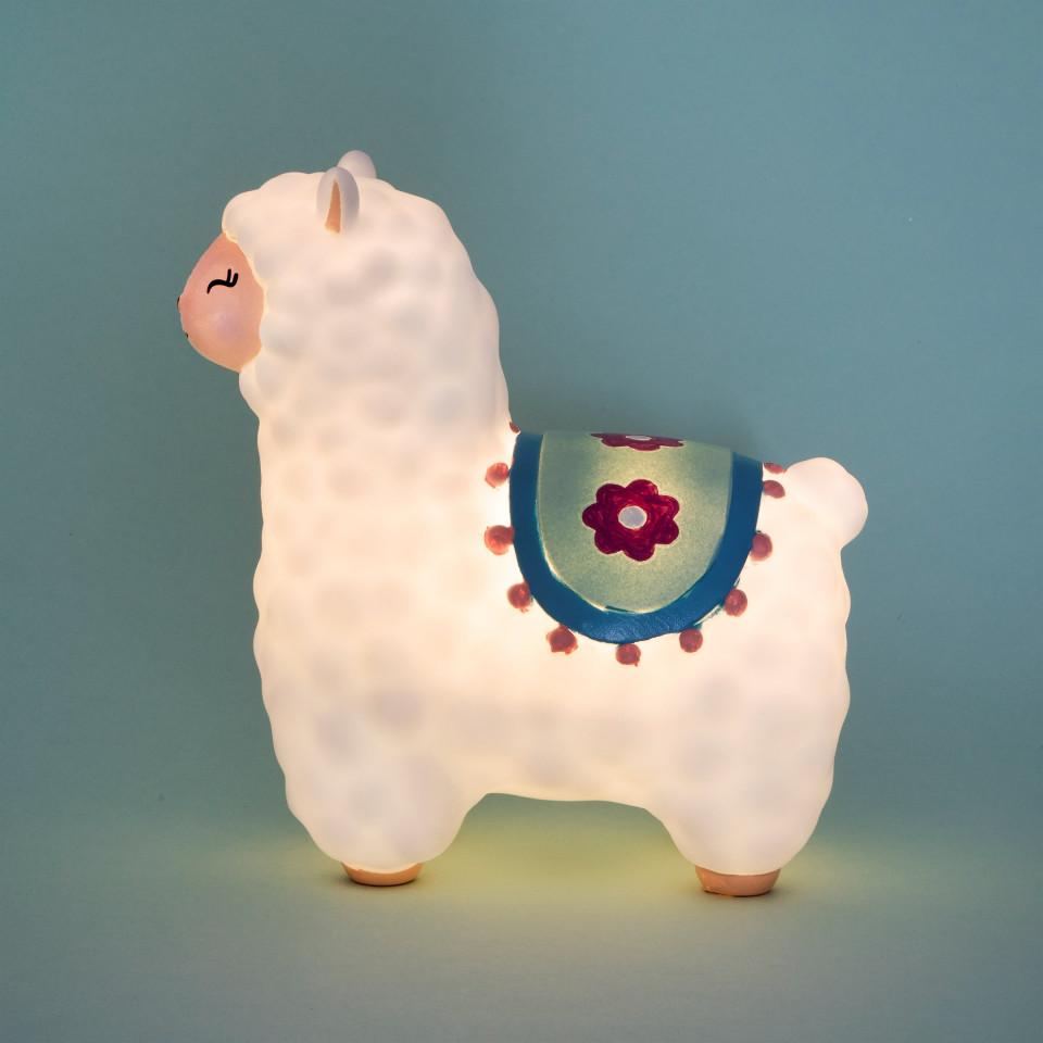 Lampa de veghe Led cu baterii Little Llama