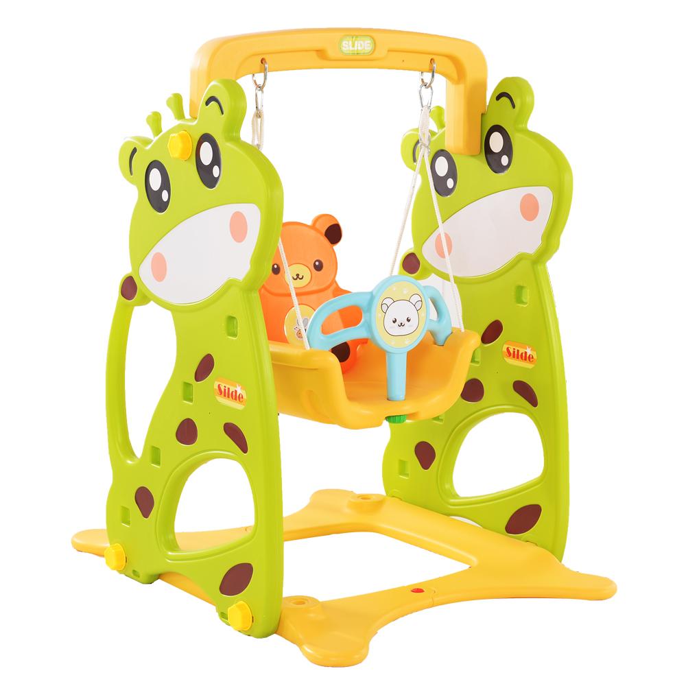Leagan pentru bebelusi Nichiduta Deer Garden Green