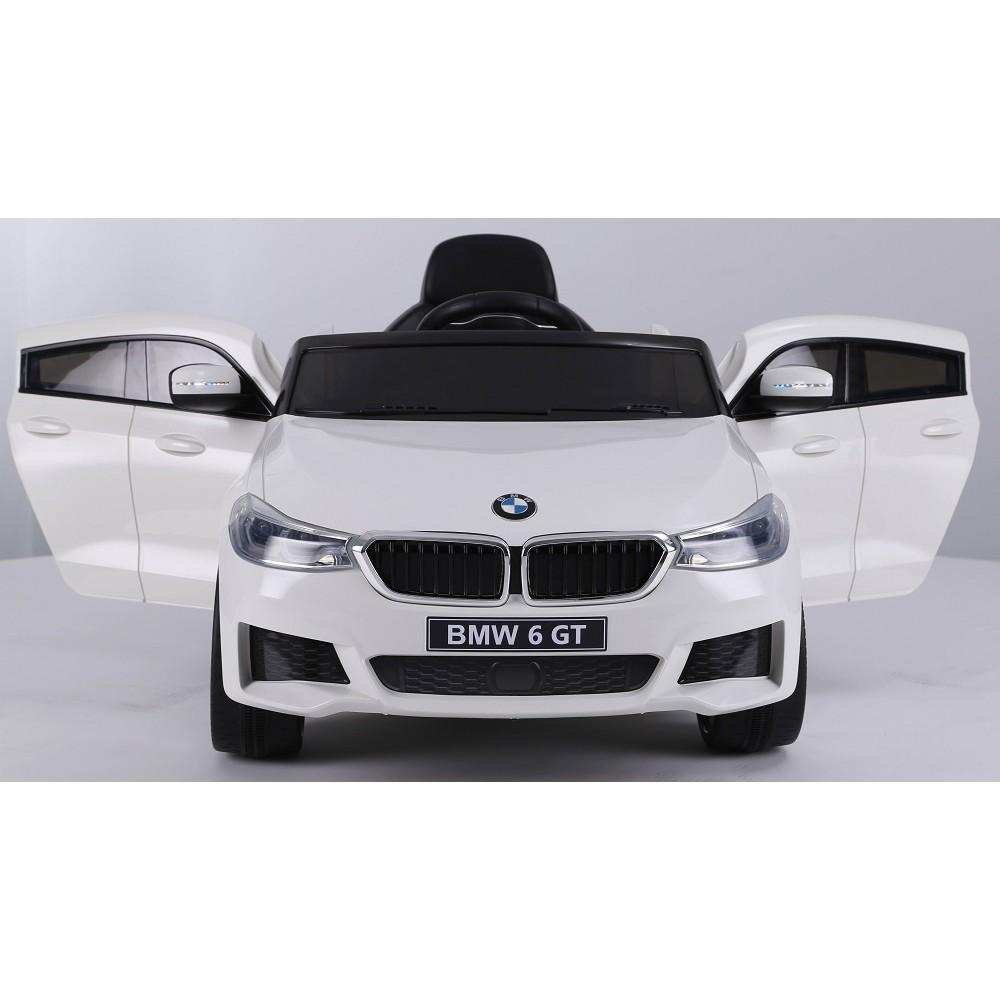 Masinuta electrica 12V BMW Seria 6 GT alb - 3
