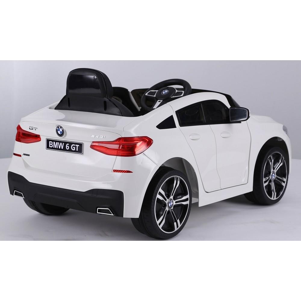 Masinuta electrica 12V BMW Seria 6 GT alb - 1