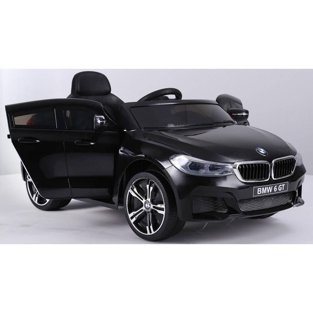 Masinuta electrica 12V BMW Seria 6 GT negru - 2