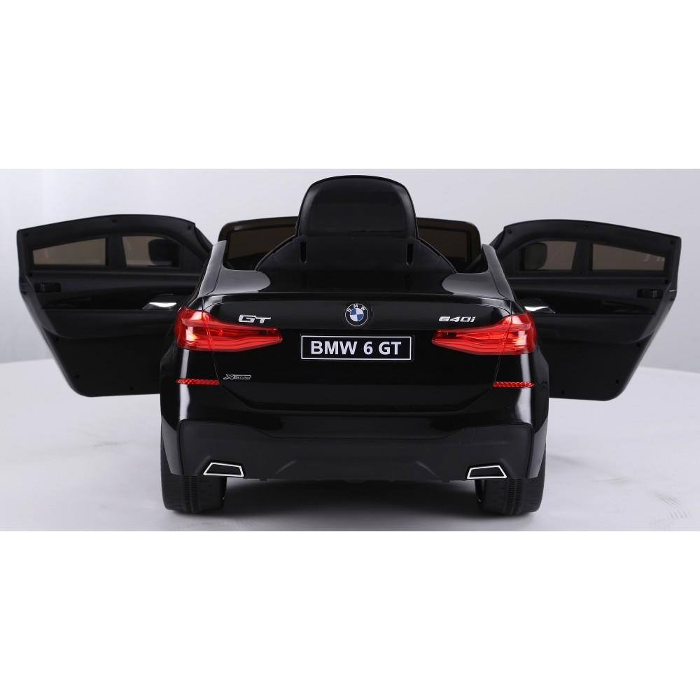 Masinuta electrica 12V BMW Seria 6 GT negru - 1