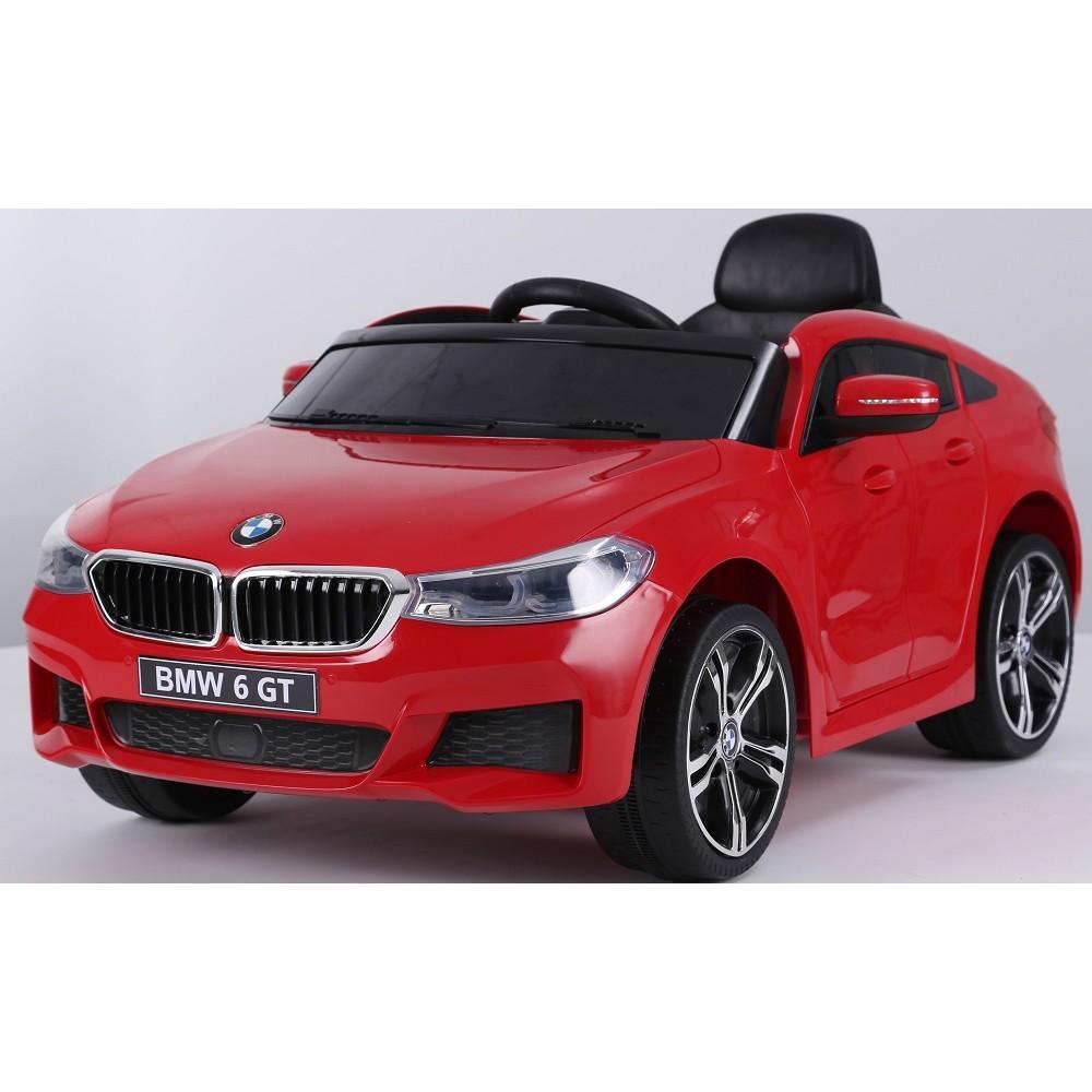Masinuta electrica 12V BMW Seria 6 GT rosu - 2