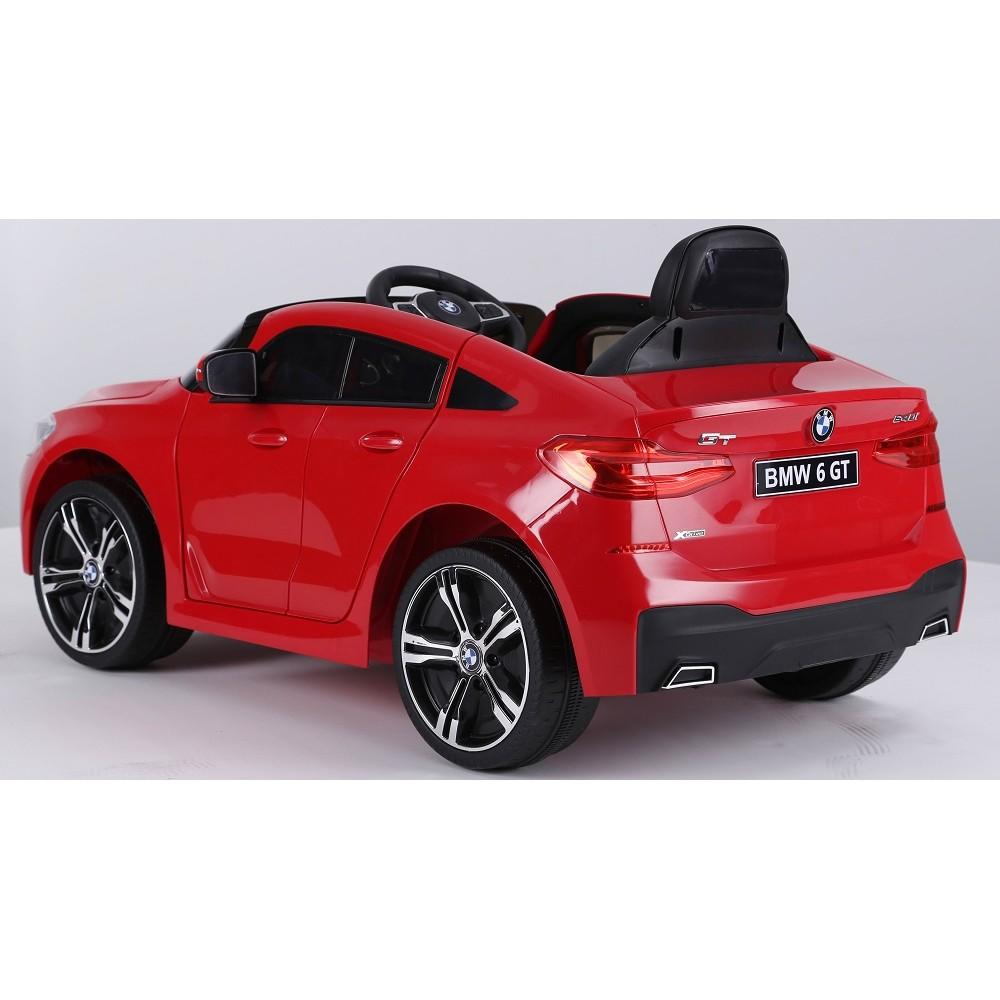 Masinuta electrica 12V BMW Seria 6 GT rosu - 1