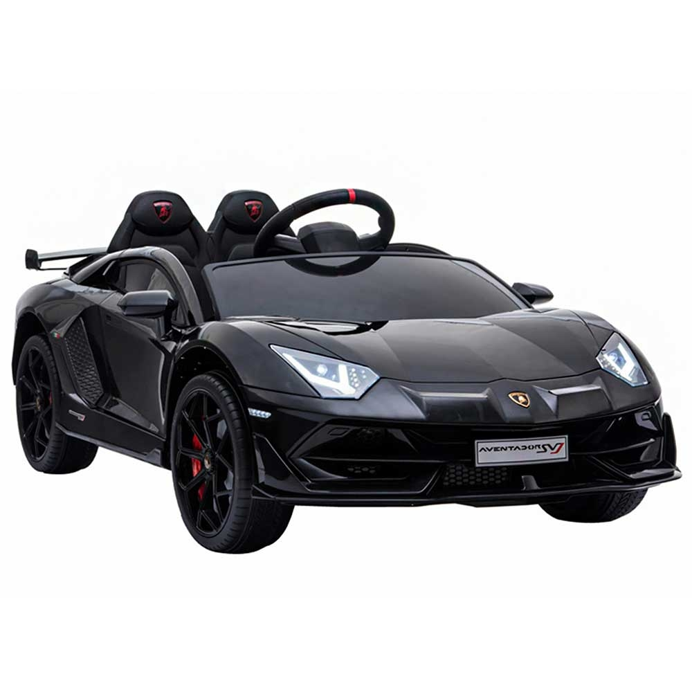 Masinuta electrica Chipolino Lamborghini Aventador SVJ black cu roti EVA - 1