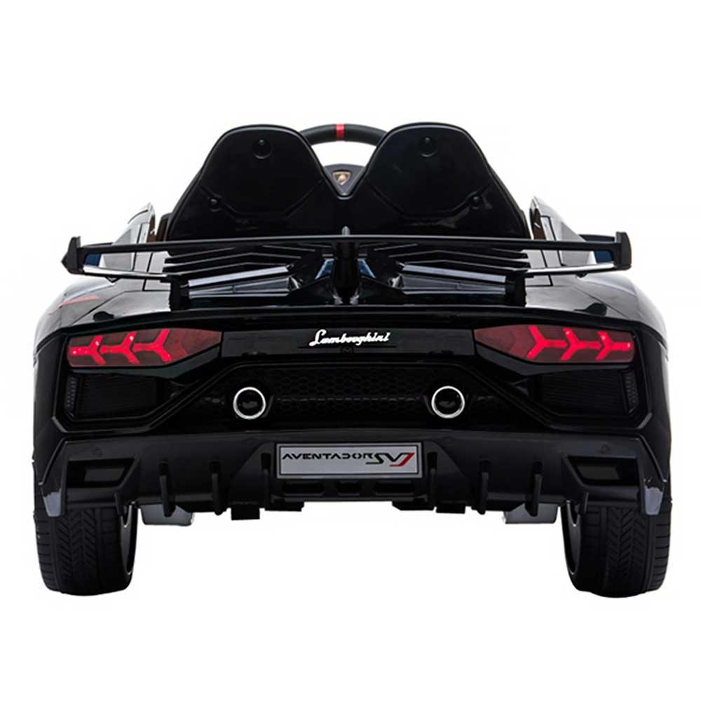 Masinuta electrica Chipolino Lamborghini Aventador SVJ black cu roti EVA - 5