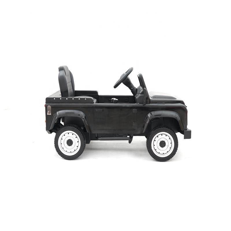 Masinuta cu pedale Land Rover Defender Black