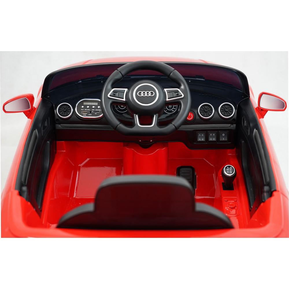 Masinuta electrica roti EVA 12V Audi A3 rosu imagine