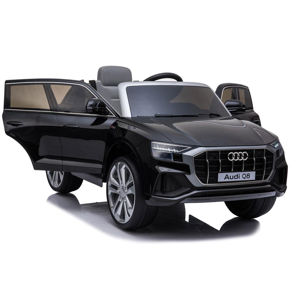 Masinuta electrica roti EVA 12V Audi Q8 negru - 1