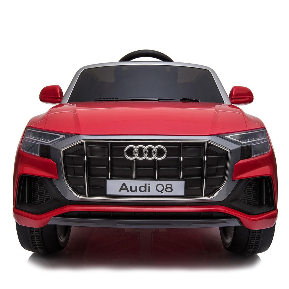 Masinuta electrica roti EVA 12V Audi Q8 rosu - 2