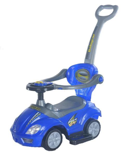 Masinuta multifunctionala 3 in 1 Ride On Blue imagine
