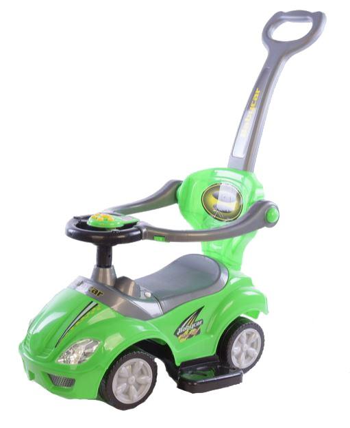 Masinuta multifunctionala 3 in 1 Ride On Green imagine