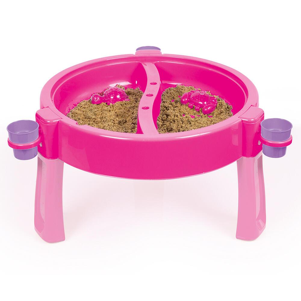 Masuta de activitati pentru apa si nisip roz imagine