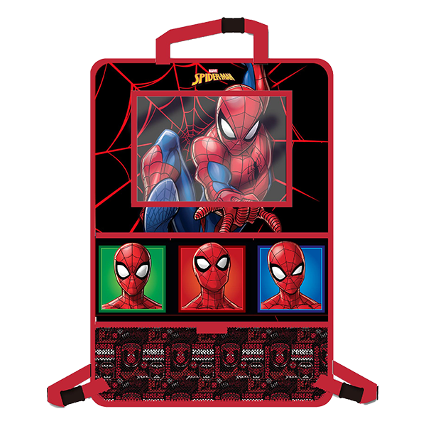 DISNEY Organizator auto si carucior cu suport de tableta Spiderman Disney CZ10274