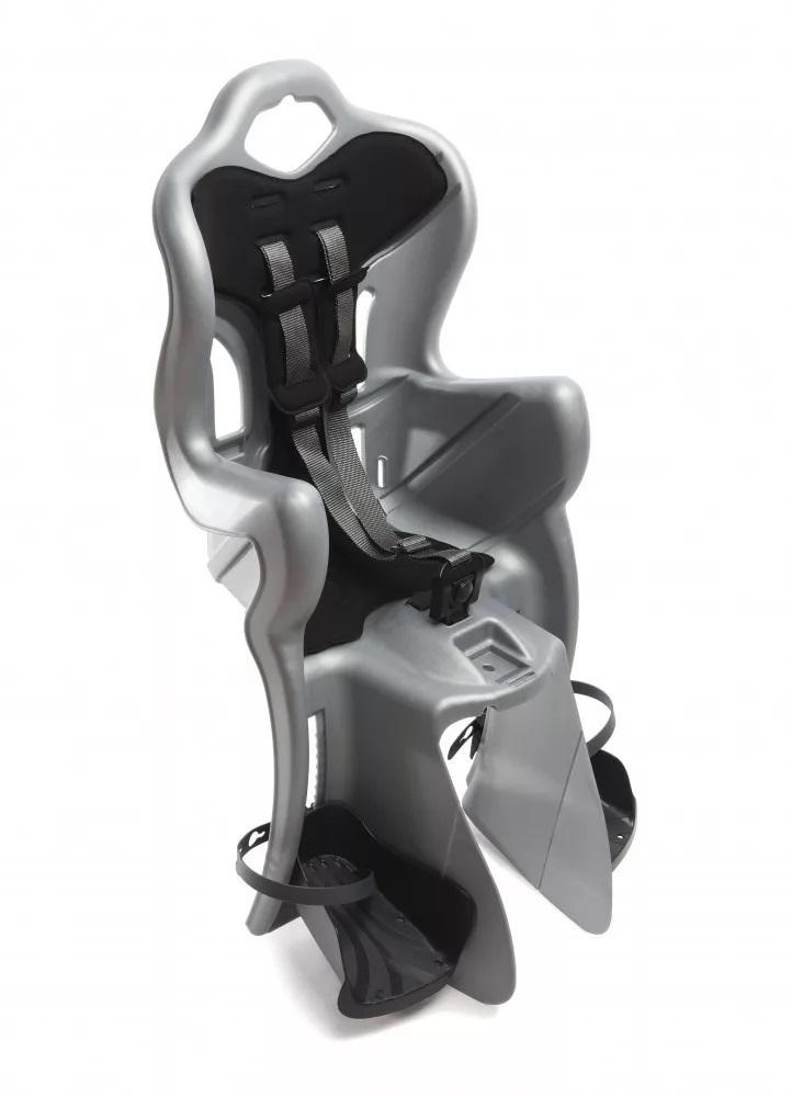 Scaun bicicleta pentru copii silver Bellelli B-One Standard Multifix