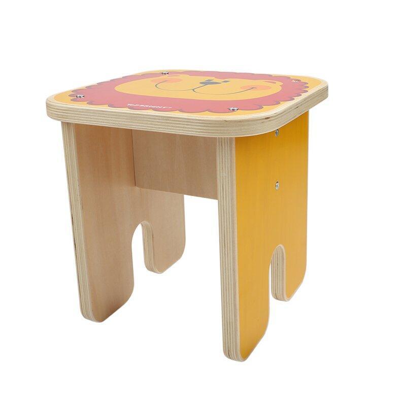 Scaunel din lemn pentru copii imagine