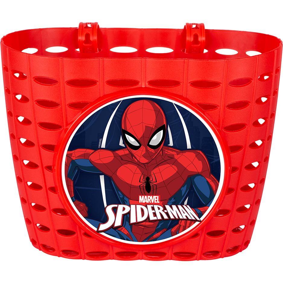Set accesorii bicicleta cos si morisca Spiderman Seven imagine