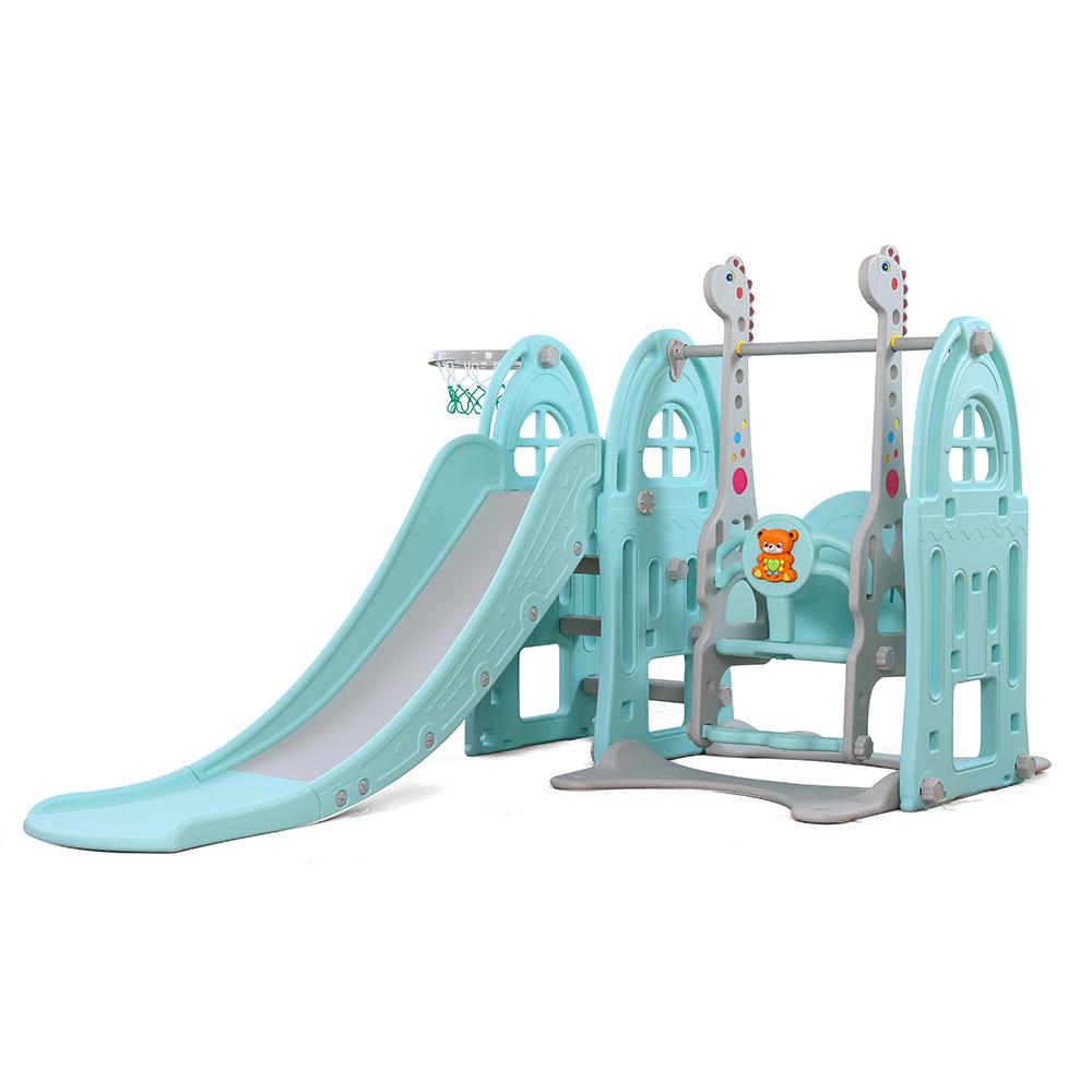 Spatiu de joaca 3 in 1 Nichiduta Garden Happy Kid Blue