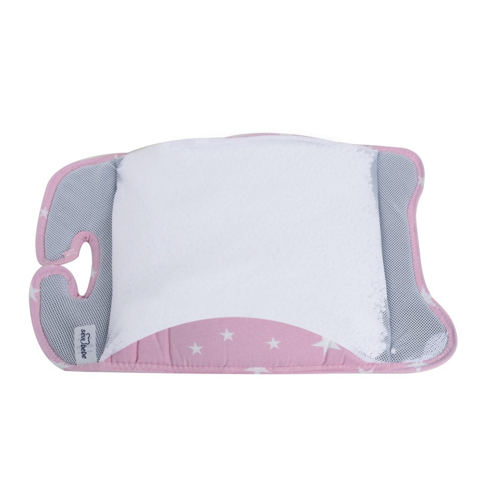 Suport lombar scoica auto Pink Stars SeviBebe