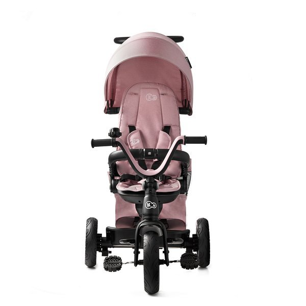 Tricicleta 4 in 1 rotativa cu pozitie de somn Easy Twist Mauvelous Pink imagine