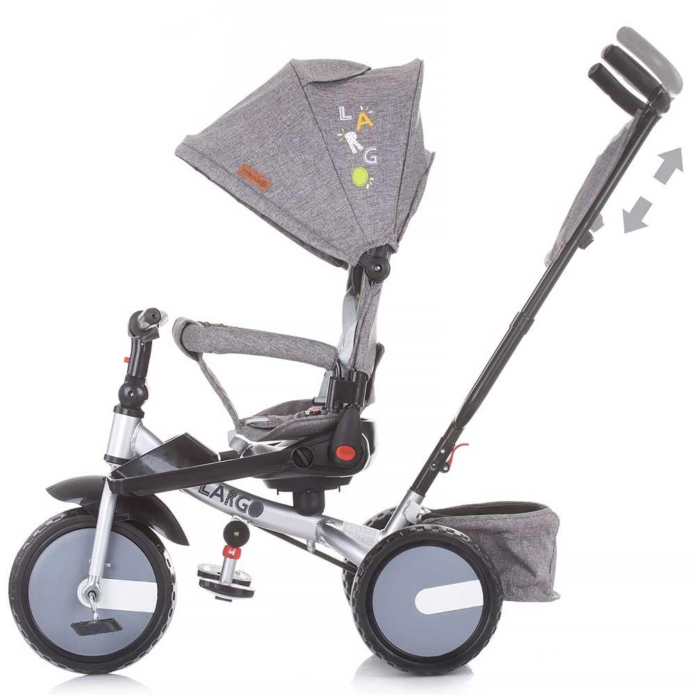 Tricicleta Chipolino Largo graphite imagine