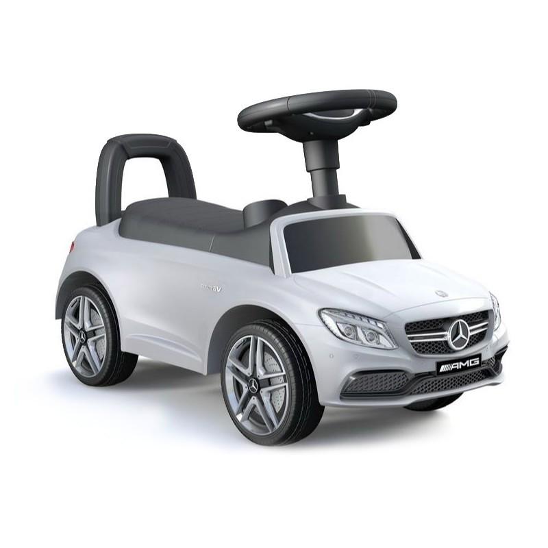 Vehicul pentru copii Mercedes Alb imagine