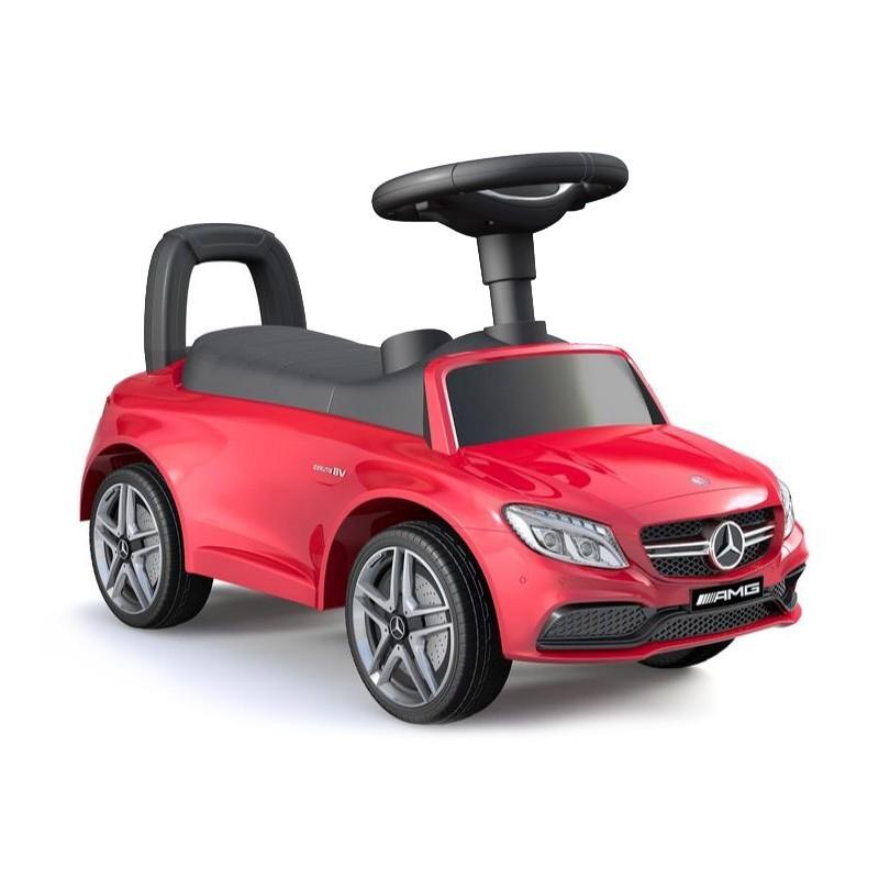Vehicul pentru copii Mercedes Rosu imagine