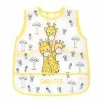 Baveta sort plastic Baby Ono 12 luni + Giraffe