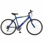 Bicicleta Urban 26 Rich R2673A 6 viteze culoare albastru/verde