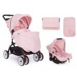 Carucior 2 in 1 cu scaun auto Airy Pink